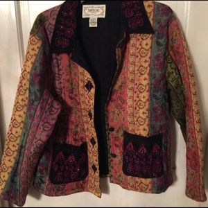 Jackets & Blazers - Boho quilted jacket